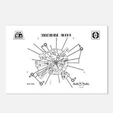 Space: 1999 - Moonbase Al Postcards (Package of 8)
