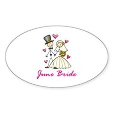 June Bride Decal