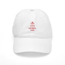Keep calm we live in Richfield Ohio Baseball Cap