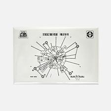 Space: 1999 - Moonbase Alpha Magnets