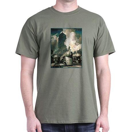 NY Central System Dark T-Shirt