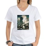 NY Central System Women's V-Neck T-Shirt