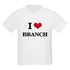 I Love Branch T-Shirt