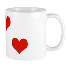 4 heart Mug