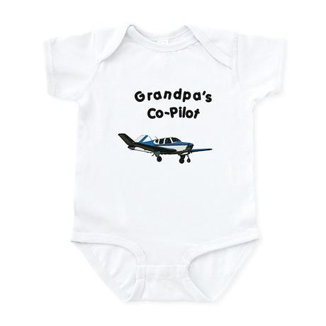Grandpa's copilot Infant Bodysuit