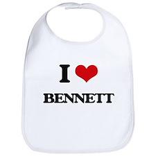 I Love Bennett Bib