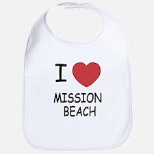 I love Mission Beach Bib