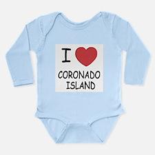 I love Coronado Island Long Sleeve Infant Bodysuit