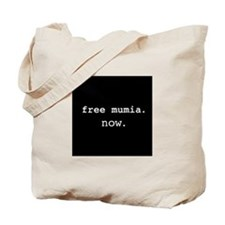 Free Mumia Now Tote Bag