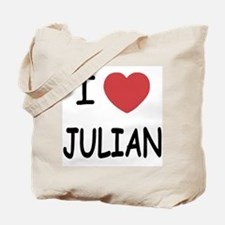 I love Julian Tote Bag