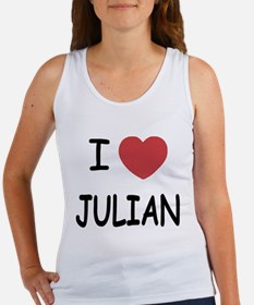 I love Julian Women's Tank Top