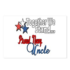 Proud Navy Uncle Postcards (Package of 8)