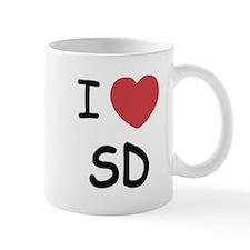 I love San Diego Small Mug