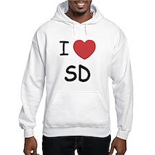 I love San Diego Jumper Hoody
