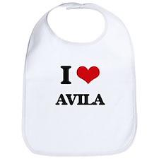 I Love Avila Bib