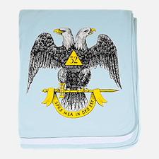 Freemasonry Scottish Rite baby blanket