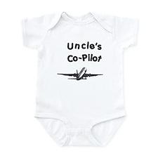 Uncle's copilot Infant Bodysuit