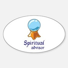 SPIRITUAL ADVISOR Decal
