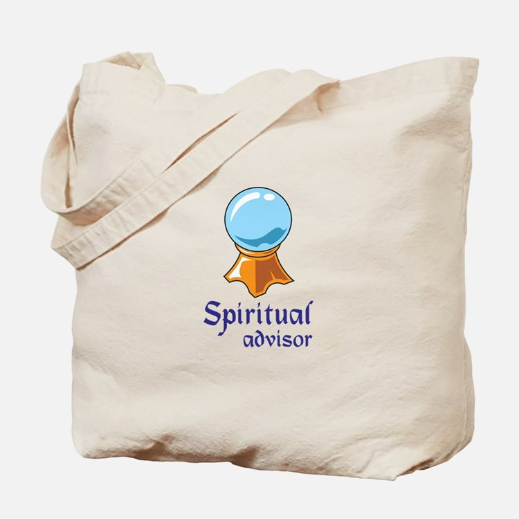 SPIRITUAL ADVISOR Tote Bag