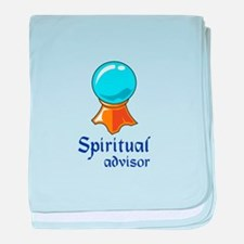 SPIRITUAL ADVISOR baby blanket