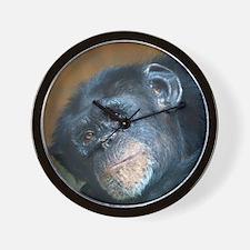 Chimpanzee 0115 Wall Clock