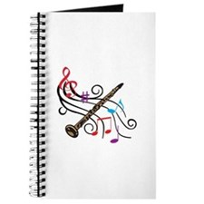 CLARINET WITH MUSIC Journal