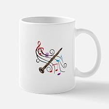 CLARINET WITH MUSIC Mugs