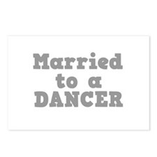 Married to a Dancer Postcards (Package of 8)