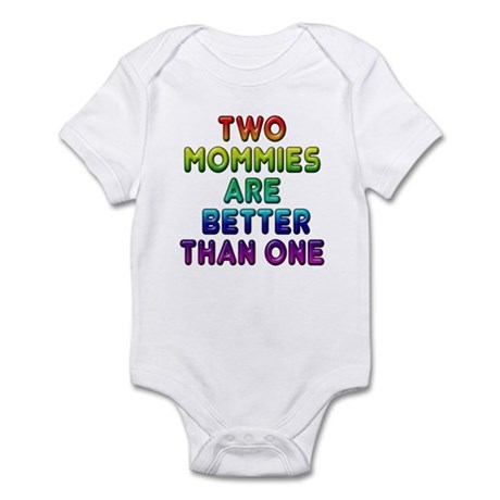 Two Mommies, Infant Bodysuit