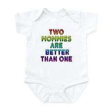 Two Mommies, Infant Bodysuit