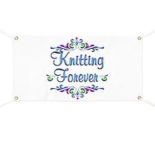 Knitting Forever Banner
