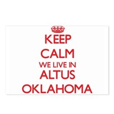 Keep calm we live in Altu Postcards (Package of 8)