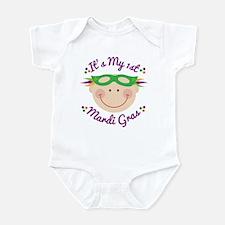 1st Mardi Gras baby Infant Bodysuit