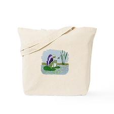 Winged Frog Tote Bag