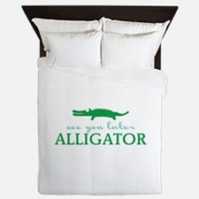 See You Later Alligator Queen Duvet