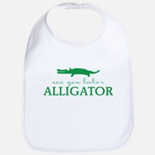 See You Later Alligator Bib
