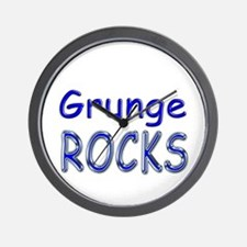 Grunge Rocks Wall Clock