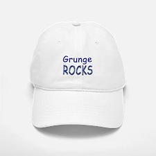Grunge Rocks Baseball Baseball Cap