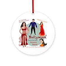 Bollywood Parody Ornament (Round)