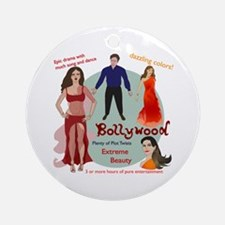 Bollywood Parody Ornament (Round)
