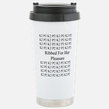 Knitting Travel Mug