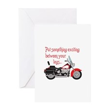 SOMETHING EXCITING Greeting Cards