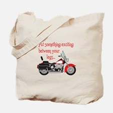 SOMETHING EXCITING Tote Bag