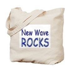 New Wave Rocks Tote Bag