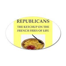 republicans Wall Decal