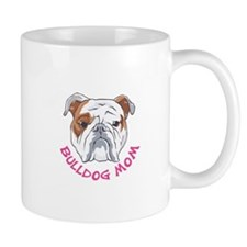 BULLDOG MOM Mugs