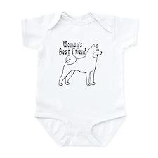 Unique Akitas Infant Bodysuit