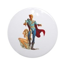 Sci-Fi Hero Ornament (Round)