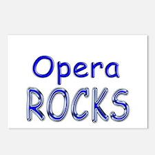 Opera Rocks Postcards (Package of 8)