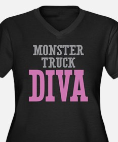 Monster Truck DIVA Plus Size T-Shirt